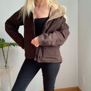 Carhartt brown jacket M medium